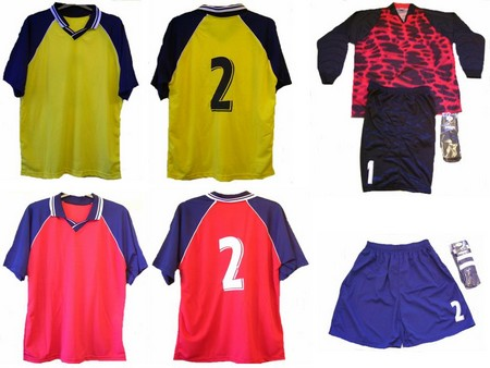 pyramid football kits