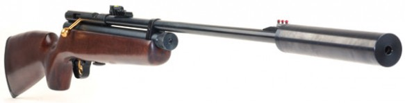 air rifle pellets cases scopes and gas