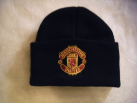 Man Utd wooly hat
