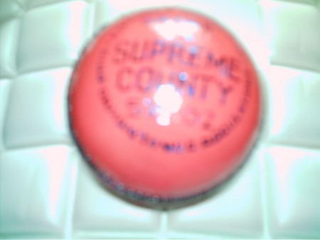 PINK CRICKET MATCHBALL