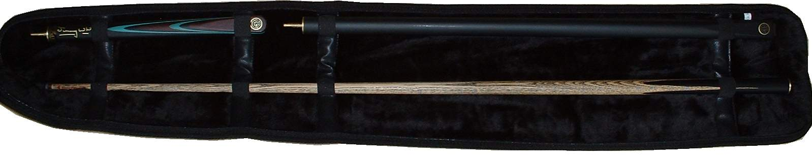 snooker cases 3/4 size cues