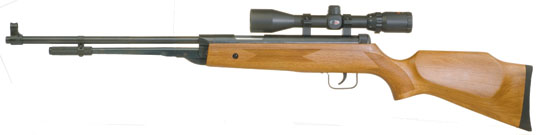 underlever air rifles 22