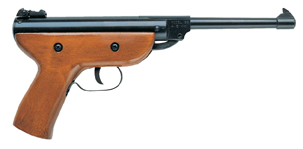 air pistol 22 classic wood finish